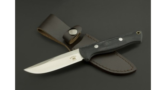 ED MAHONY Pathfinder, Jagdmesser, G10 mit schwarzem Griff, 440C