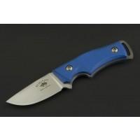 Ed Mahony Skywalk Neck Knife Taschenmesser Blue-G10, D2 Stahl